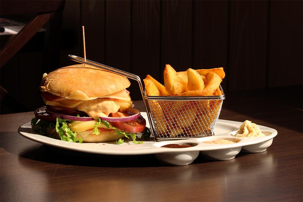 Burger Le Relais - Le savoyard