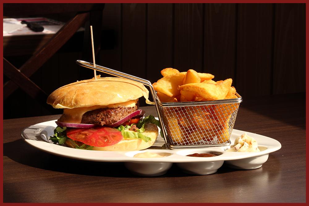 Burger Le Relais - Le classique (cadre)