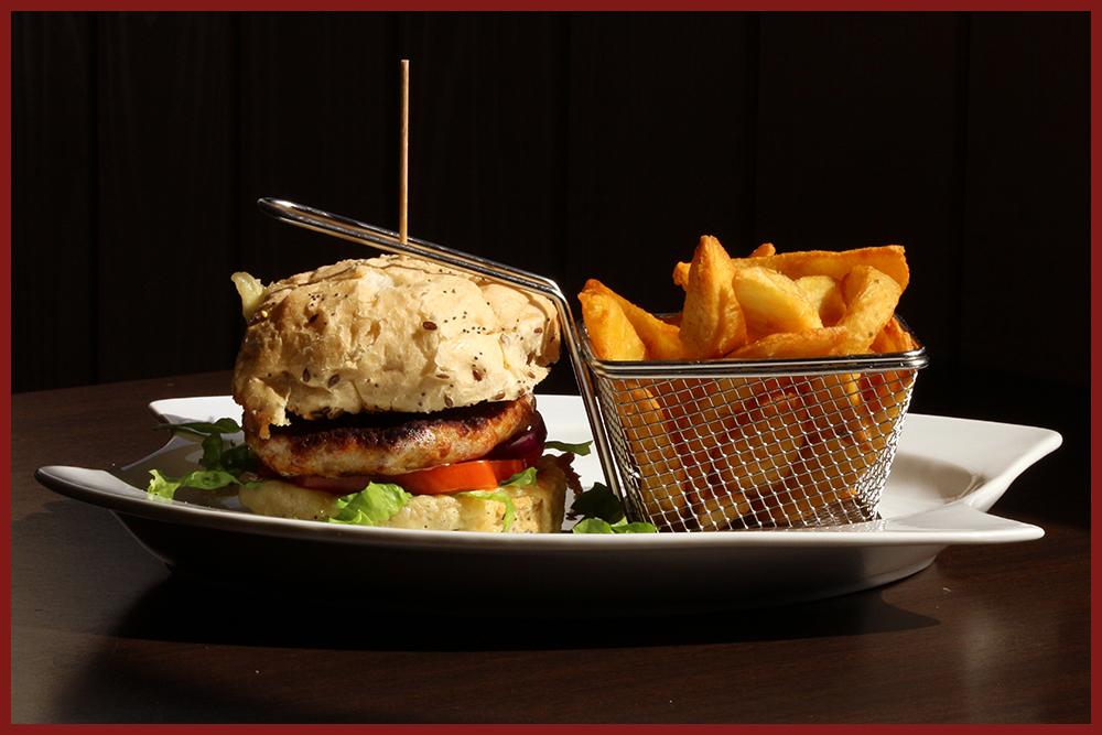 Burger Le Relais - Le poulet roti (cadre)
