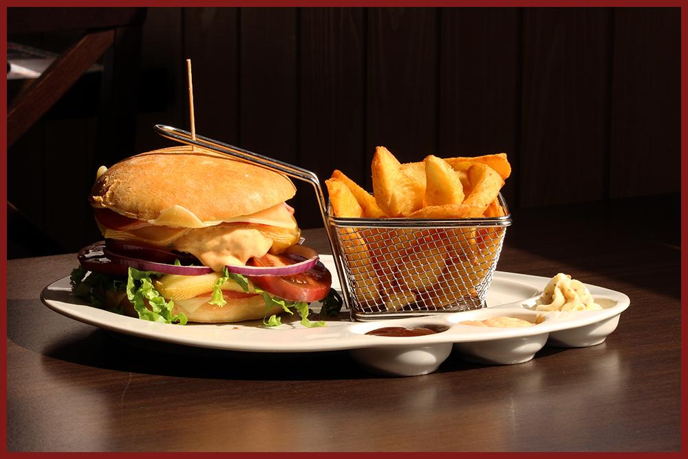 Burger Le Relais - Le savoyard (cadre)